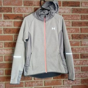 Under armour storm hooded zip up jacket